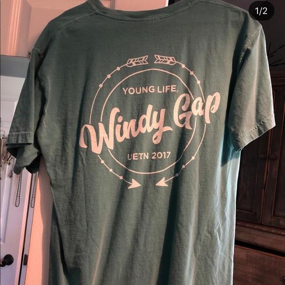 Windy gap Younglife tee shirt